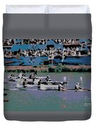 Olympic Rowing Duvet Cover
