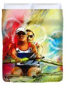 Olympics Rowing 03 Painting By Miki De Goodaboom