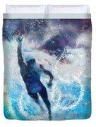 Olympics Swimming 01 Duvet Cover