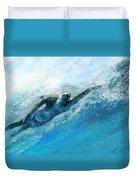 Olympics Swimming 03 Duvet Cover