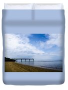 Omaha Beach Duvet Cover