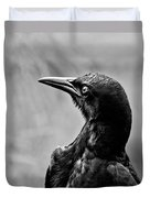 On Alert - Bw Duvet Cover
