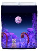 On Another Planet Duvet Cover by Douglas Barnard