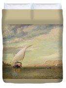 On The Nile Duvet Cover