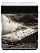 On The Road Again Duvet Cover
