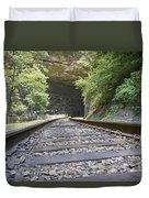 On The Tracks Duvet Cover