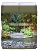 On The Trail To Marymere Duvet Cover