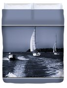 On The Water 1 - Venice Duvet Cover
