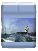 On The Water 2 - Venice Duvet Cover
