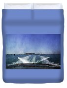 On The Water 5 - Venice Duvet Cover