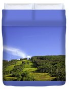 On Vail Mountain II Duvet Cover