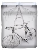 On Your Bike Duvet Cover