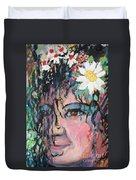Once Upon A Time Woman Duvet Cover