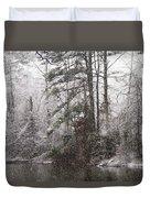One Alabama Christmas Duvet Cover