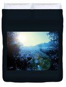 One Blue Morning Duvet Cover