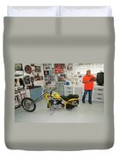 One Chopper Coming Up Duvet Cover