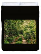One Lonely Path Duvet Cover