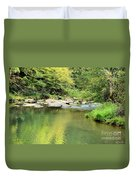 One Of Those Peaceful Places Duvet Cover