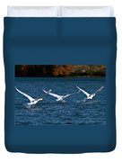 One Two Three Go Duvet Cover