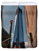 One Wtc First Look Duvet Cover