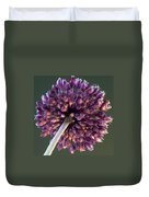 Onion Flower Duvet Cover