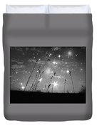 Only The Stars And Me Duvet Cover