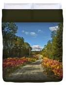 Ontario Backroad Duvet Cover