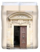 Open Church Door - Germany Duvet Cover