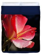 Open Rose After The Rain Duvet Cover