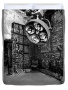 Operating Room - Eastern State Penitentiary - Black And White Duvet Cover