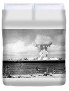 Operation Crossroads, Able Detonation Duvet Cover
