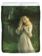 Ophelia Duvet Cover by Pascal Adolphe Jean Dagnan Bouveret