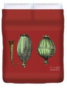 Opium Harvesting Duvet Cover