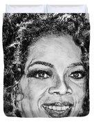 Oprah Winfrey In 2007 Duvet Cover