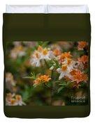 Orange Brilliance Duvet Cover