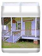 Orange Grove Store Duvet Cover