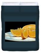 Orange Slices Duvet Cover