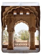 Orchha's Palace India Duvet Cover