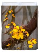 Orchid - Golden Morning  Duvet Cover