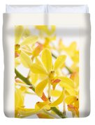 Orchid Bunch Duvet Cover