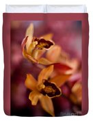 Orchid Dance Duvet Cover