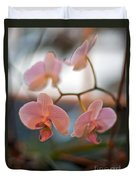 Orchid Gathering Duvet Cover