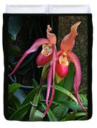 Orchid Mysteries Duvet Cover