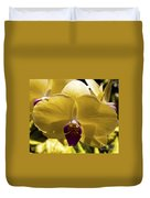 Orchid Study Vi Duvet Cover