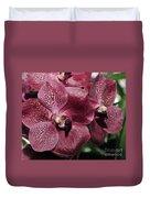 Orchid Vanda And Ascocenda Hybrid II Duvet Cover