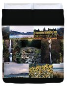 Oregon Collage From Sept 11 Pics Duvet Cover