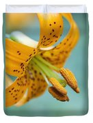 Oregon, United States Of America A Lily Duvet Cover
