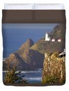 Oregon, United States Of America Heceta Duvet Cover
