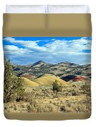 Oregons Painted Hills Duvet Cover