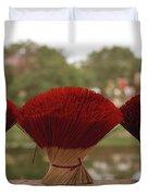 Oriental Hue Duvet Cover